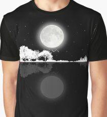 Nature Guitar Night Graphic T-Shirt