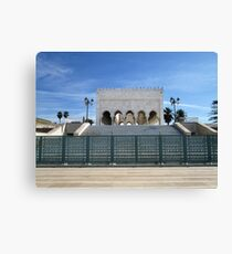 Mausoleum of Mohammed V, Rabat, Morocco Canvas Print