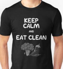 Keep calm and Eat Clean  T-Shirt