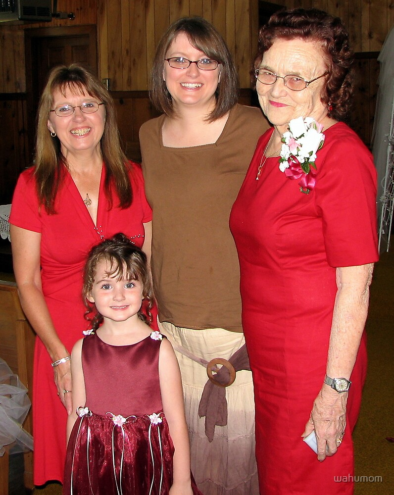 Four Generations of Women by wahumom