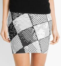 Chessboard Mini Skirt