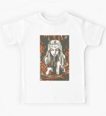 A Gothic Girl In A Gothic World Kids Tee