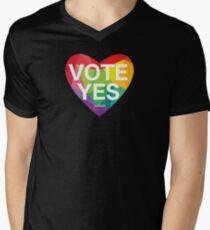 Australia, Vote Yes! Men's V-Neck T-Shirt