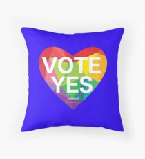 Australia, Vote Yes! Throw Pillow