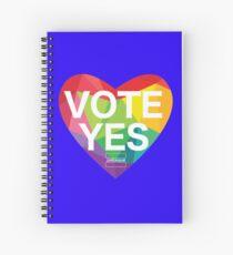 Australia, Vote Yes! Spiral Notebook
