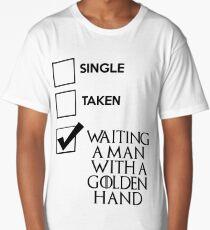 Single, taken A.... Long T-Shirt