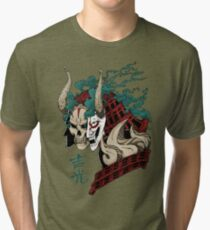 吉光 Yoshimitsu, Leader Of The Honorable Manji Clan Tri-blend T-Shirt