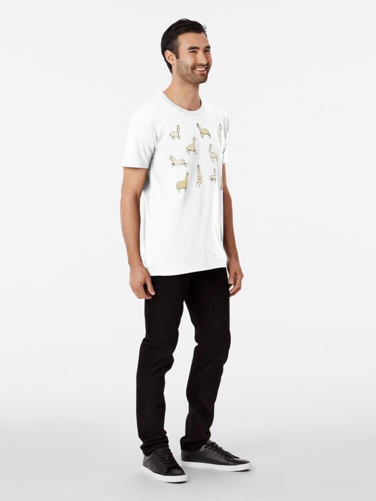 Alternative Ansicht von Lamas Premium T-Shirt