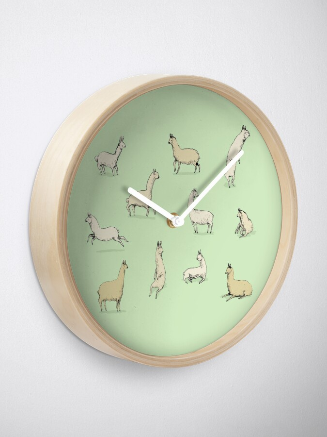 Alternative Ansicht von Lamas Uhr