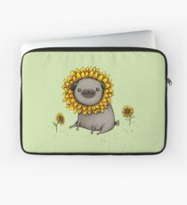 Pugflower Laptop Sleeve