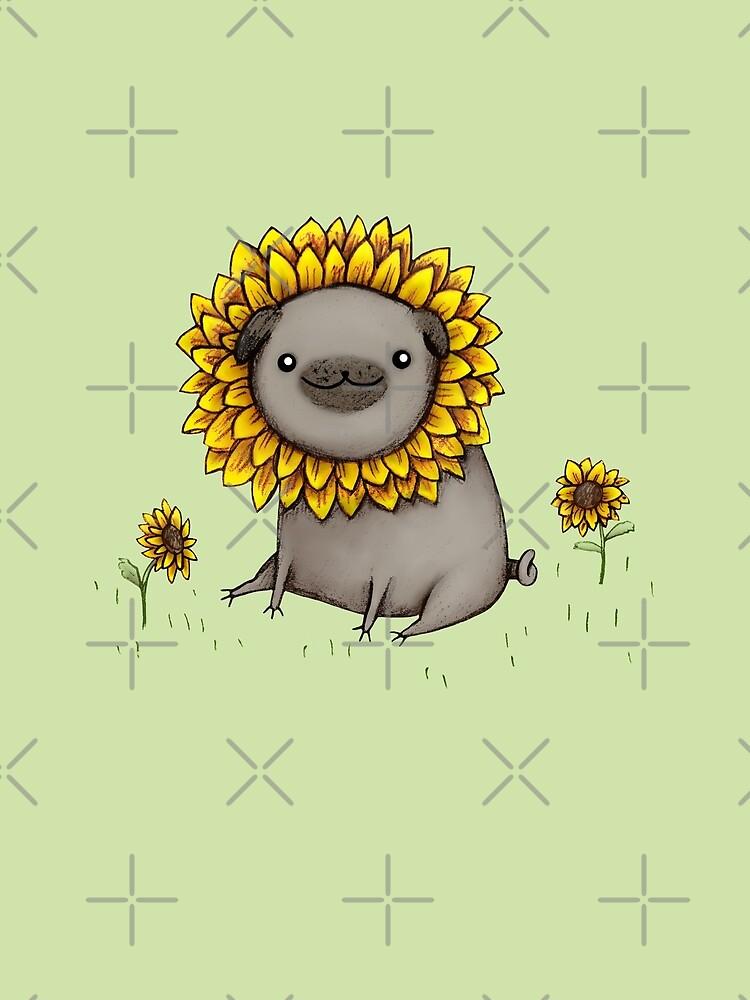 Pugflower by SophieCorrigan
