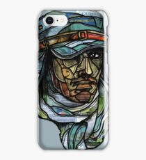 Watchful eye of the foreign legion iPhone Case/Skin