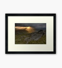 Above Honister Framed Print