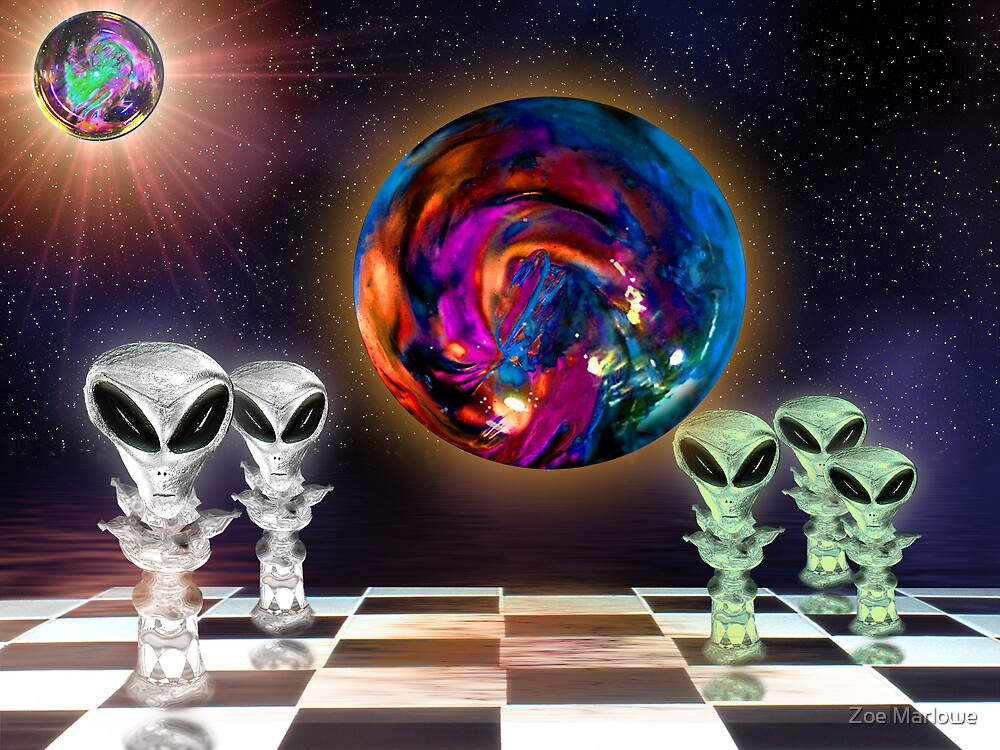 Alien Chess by Zoe Marlowe