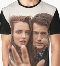 "13 Reasons Why ""Katherine langford And Dylan minnette"" Graphic T-Shirt"