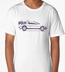 Delorean Long T-Shirt