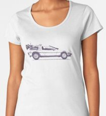 Delorean Women's Premium T-Shirt