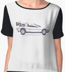 Delorean Women's Chiffon Top