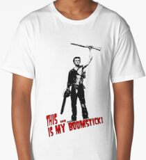 Ash - Evil Dead/Army of Darkness - Boomstick (Updated) Long T-Shirt