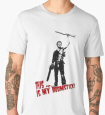 Ash - Evil Dead/Army of Darkness - Boomstick (Updated) Men's Premium T-Shirt