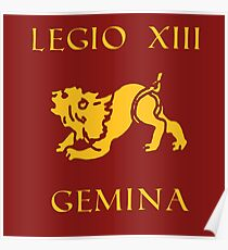 Legio XIII Gemina Poster