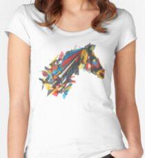 beygir (horse) Women's Fitted Scoop T-Shirt