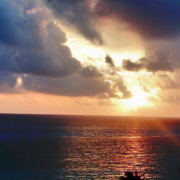 Sunset Cancun 2 by karenkirkham