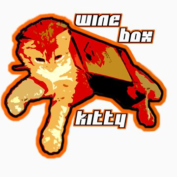 Wine Box Kitty II by juzzy3