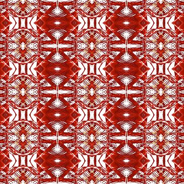 red pattern 1 by person