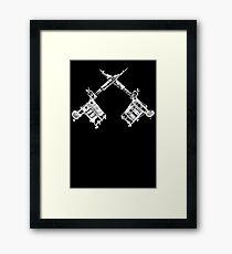 Tattoo Guns Framed Print