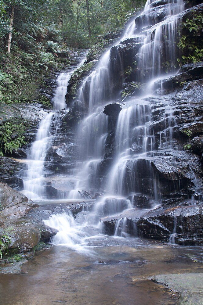 Blue Mountains Waterfall 4 by Mark Williamson