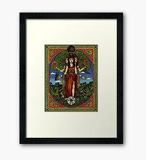 The Goddess Hecate Goddess of Witchcraft and Cross Roads Framed Print
