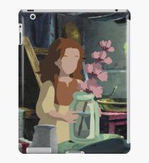 Arrietty and Flower iPad Case/Skin