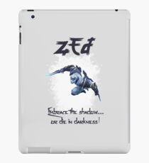 League of Legends ZED iPad Case/Skin