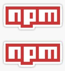 npm Sticker