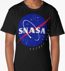 SNASA (Secret NASA - Logo) Long T-Shirt