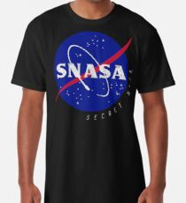 Camiseta larga SNASA (Secreto NASA - Logotipo)