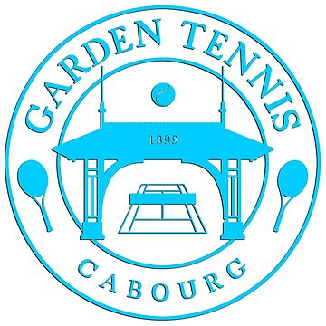 CABOURG GARDEN TENNIS COLLECTION - BLUE by Lionfish
