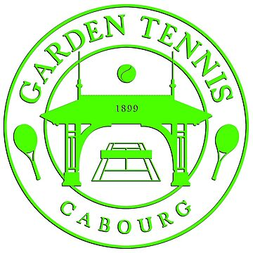 CABOURG GARDEN TENNIS COLLECTION - GREEN by Lionfish