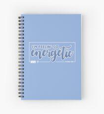 Cuaderno de espiral enérgico - quiero uno