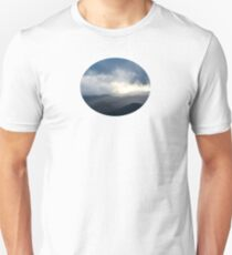 Light Streaming over Mountains T-Shirt