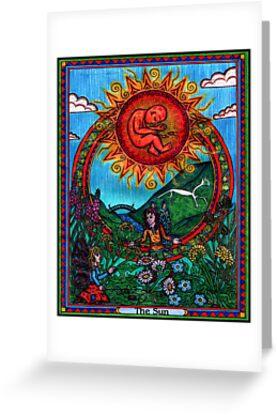 The Sun Card, Tarot by CherrieB