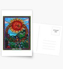 The Sun Card, Tarot Postcards