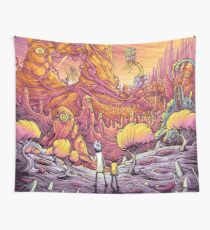 Rick and Mortys' World Wall Tapestry
