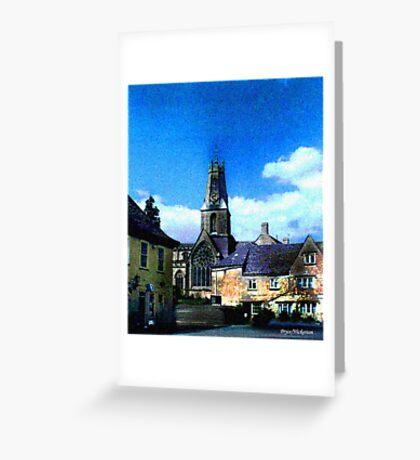 Church In Minchinhampton Greeting Card