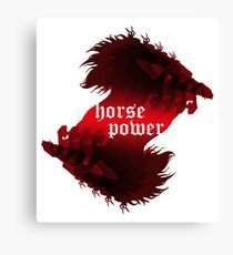 Horsepower Canvas Print