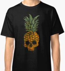 Green Punk Gold Skull Classic T-Shirt