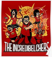 The Incredibelchers Poster
