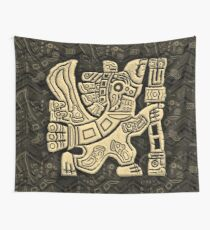 Aztec Eagle Warrior Wall Tapestry