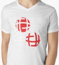 Two lenses Men's V-Neck T-Shirt